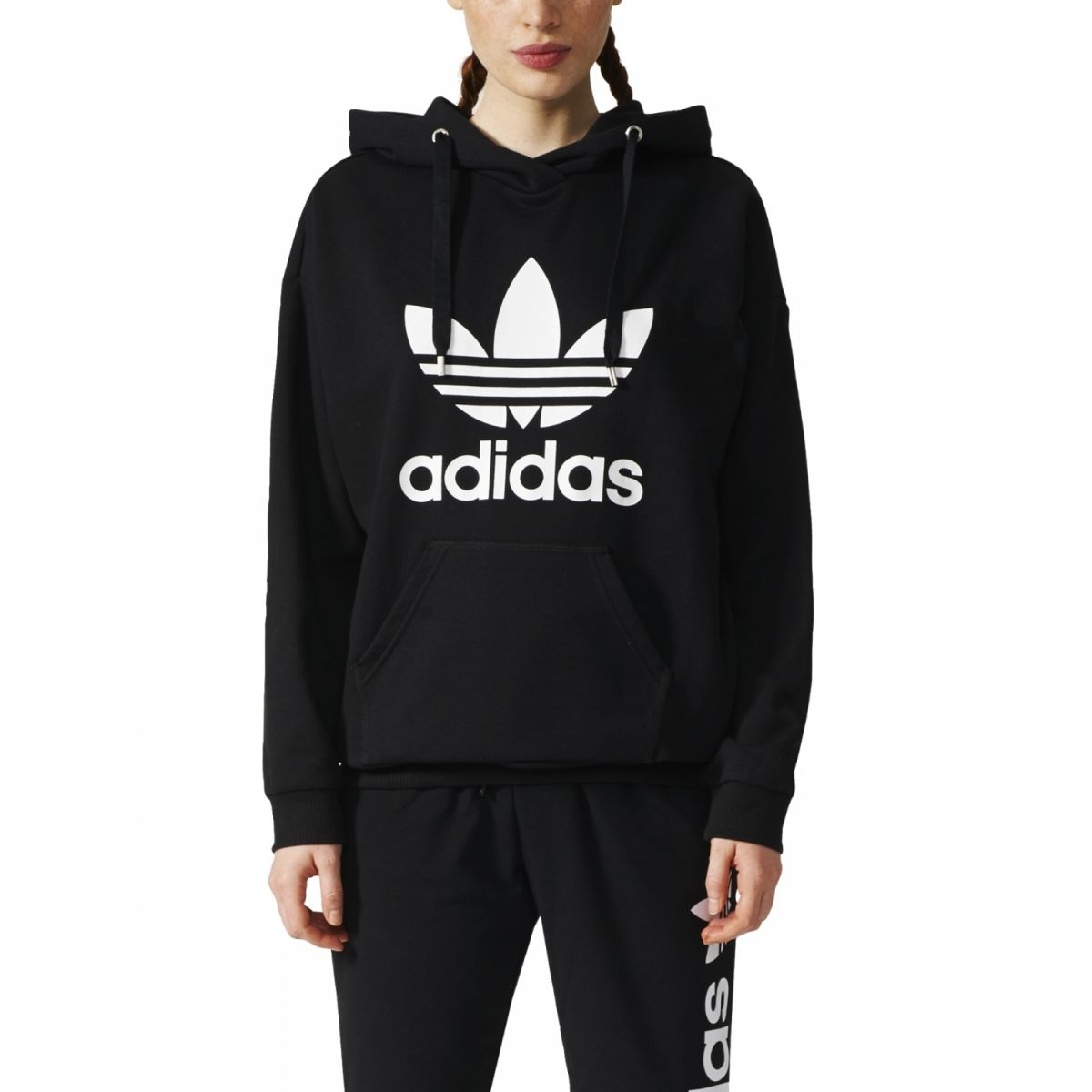 Billig Adidas Originals Sweatshirts Damen Sweatshirt Mit