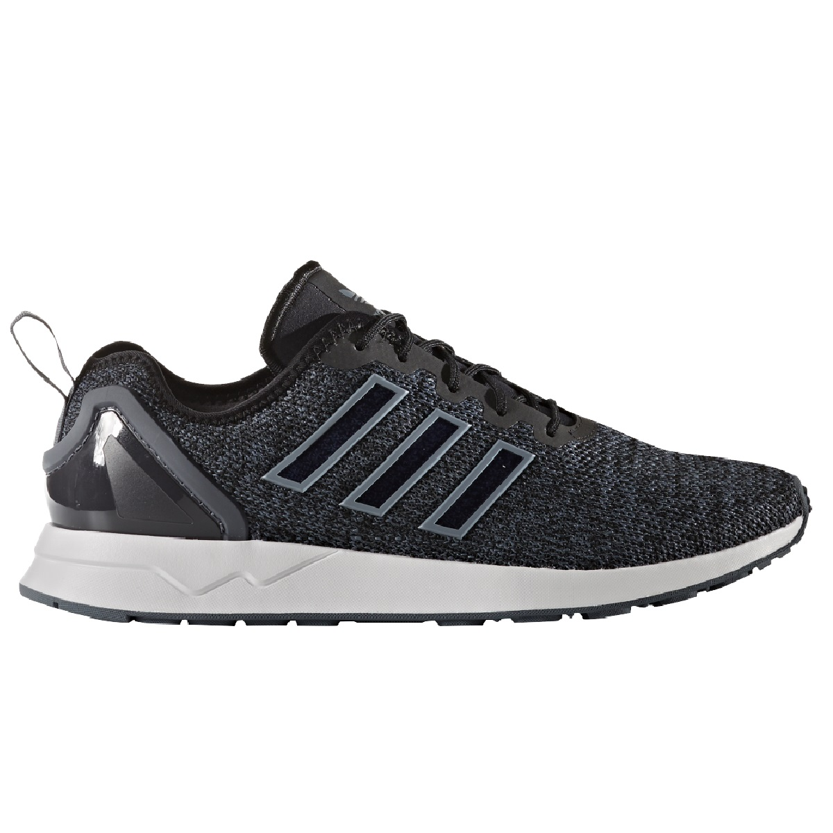 adidas originals herren zx flux sneakers schwarz