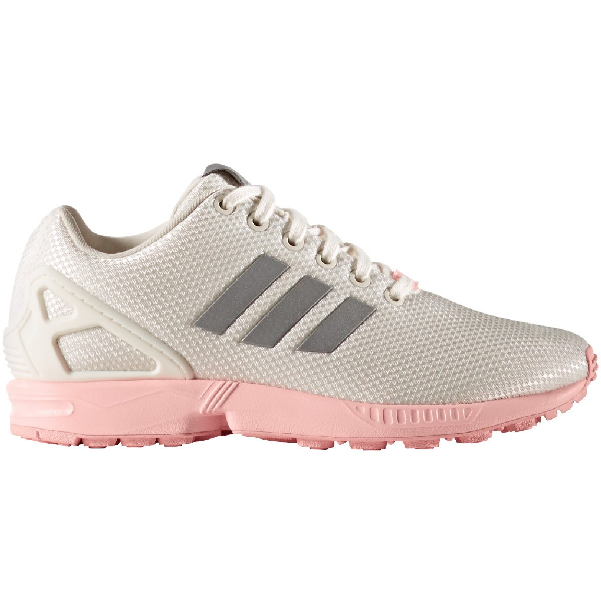 adidas originals zx flux sneaker damen schuhe wei rosa ba7642 sport klingenmaier. Black Bedroom Furniture Sets. Home Design Ideas