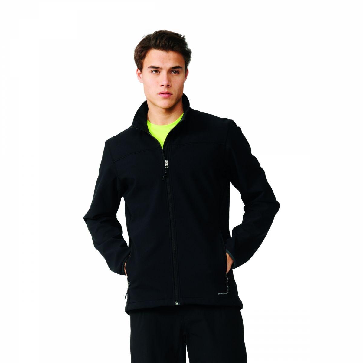 adidas softshell jacket herren jacke schwarz ai2371. Black Bedroom Furniture Sets. Home Design Ideas