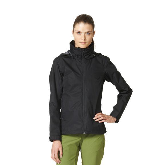adidas wandertag jacket damen jacke schwarz ap8713. Black Bedroom Furniture Sets. Home Design Ideas