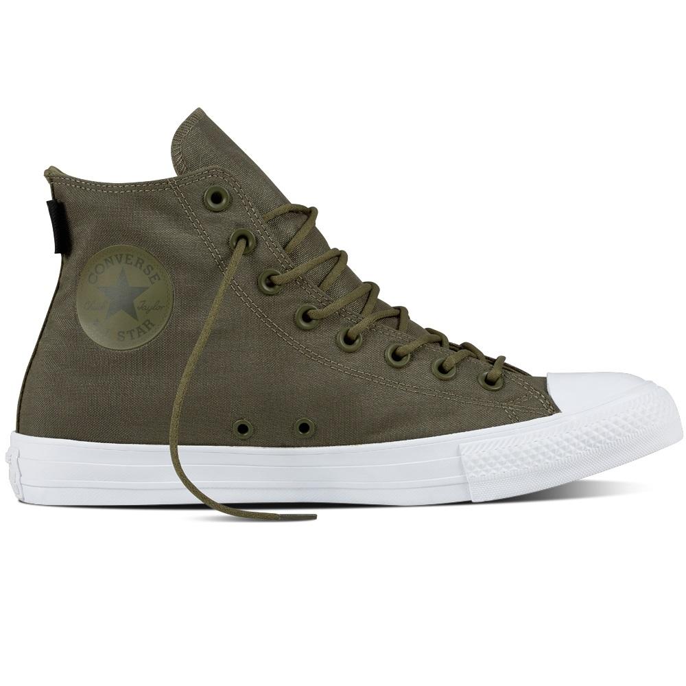40025dfc766f12 Converse Chuck Taylor All Star High Sneaker Herren Schuhe olive ...