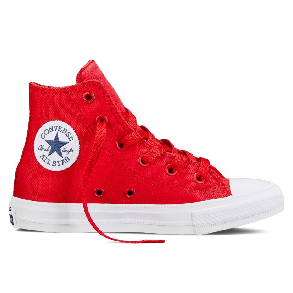 f90a6ba34061dd Converse Chuck Taylor All Star II High Sneaker Kinder Schuhe rot ...