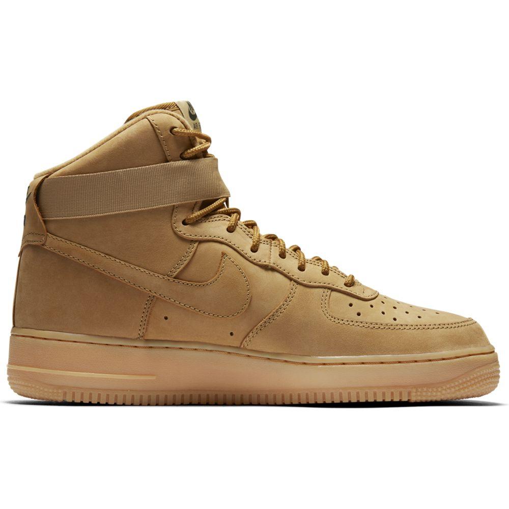 nike air force 1 gs leder jungen kinder sneaker