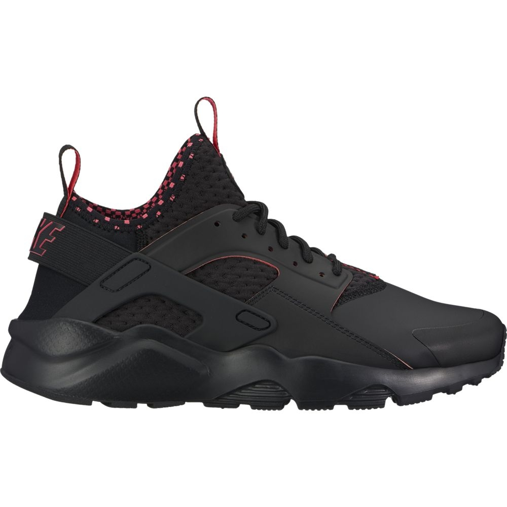 finest selection 42e3b 5950e Nike Air Huarache Run Ultra SE Sneaker Herren Schuhe schwarz rot ...