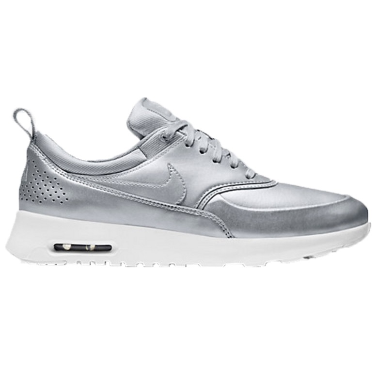nike air max thea se sneaker damen silber 861674 001. Black Bedroom Furniture Sets. Home Design Ideas