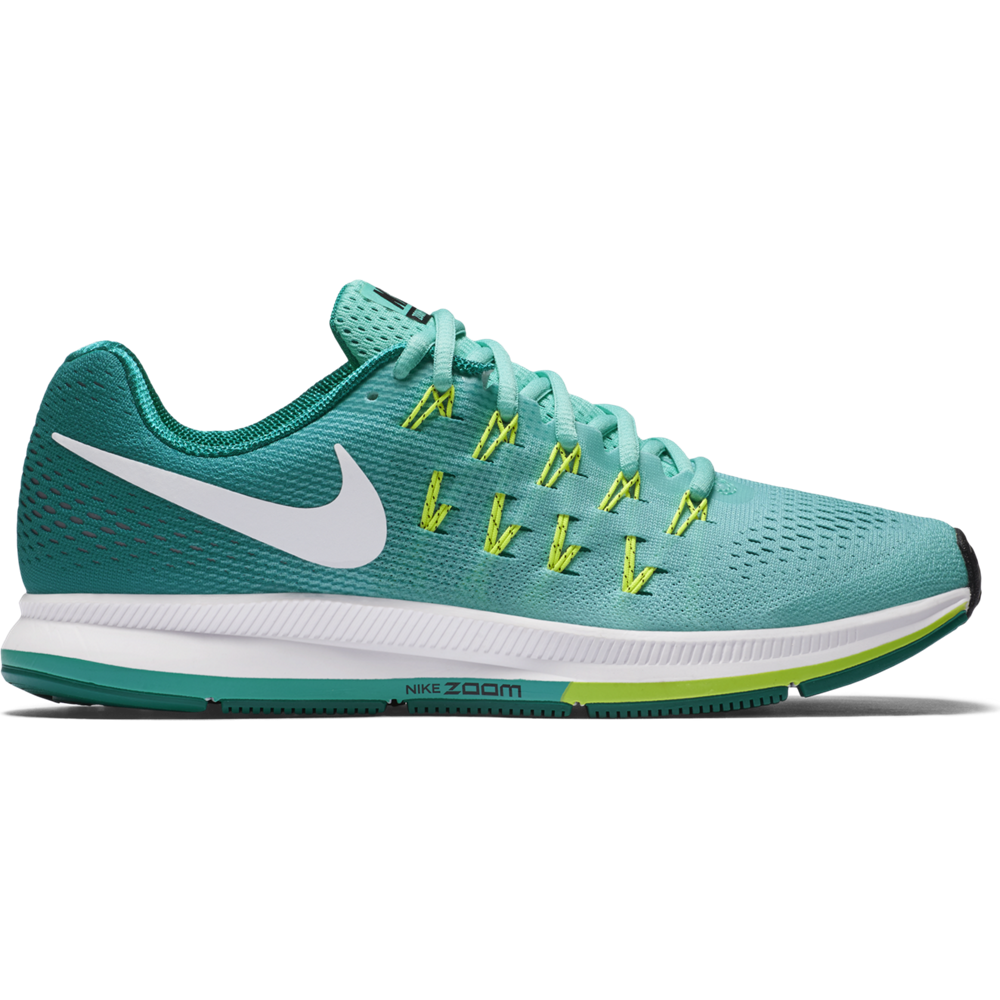 nike air zoom pegasus 33 damen laufschuhe t rkis weiss. Black Bedroom Furniture Sets. Home Design Ideas