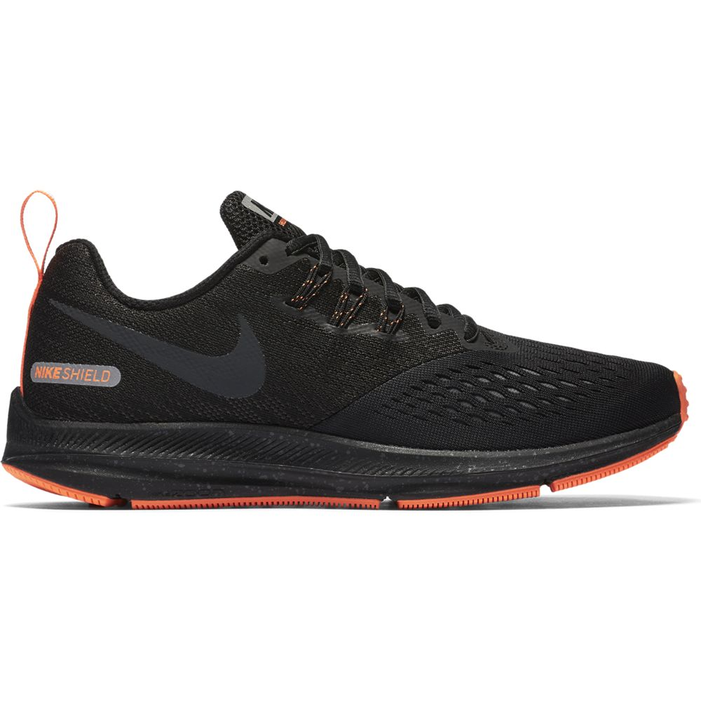buy online 79dc2 25686 Nike Air Zoom Winflo 4 Shield Damen Laufschuhe Running schwarz orange. 1;  2; 3; 4; 5 ...