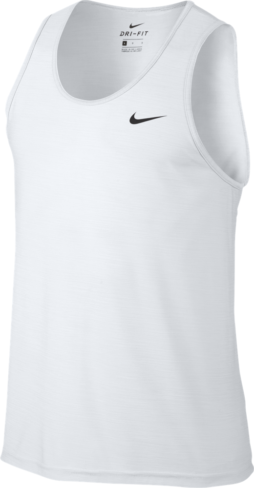 nike breathe training tank top herren wei 832863 100. Black Bedroom Furniture Sets. Home Design Ideas