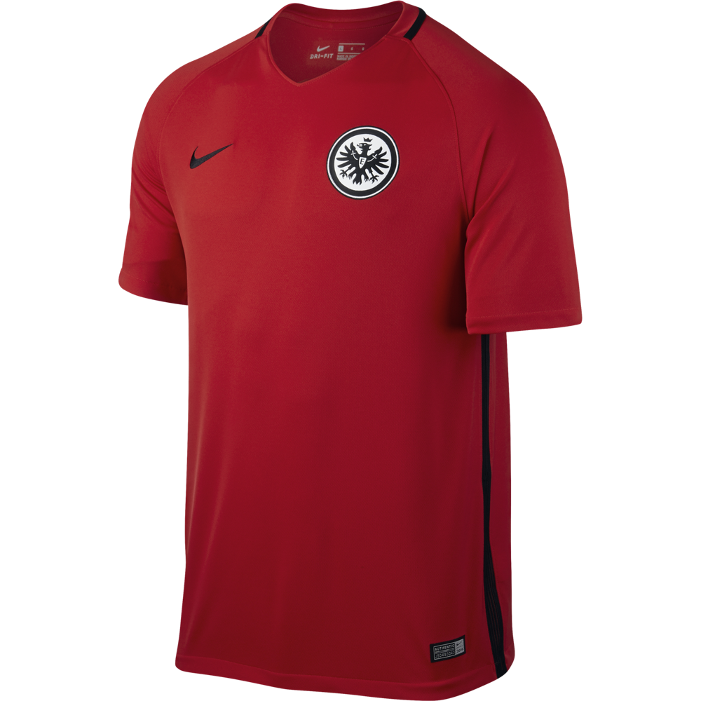 Nike Eintracht Frankfurt Away Trikot Herren 20162017 Rot 808423
