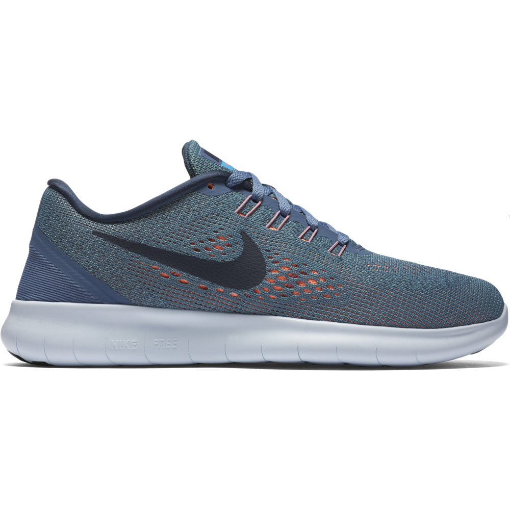 on sale 4a446 488e6 Nike Free Run Laufschuhe Damen grau blau