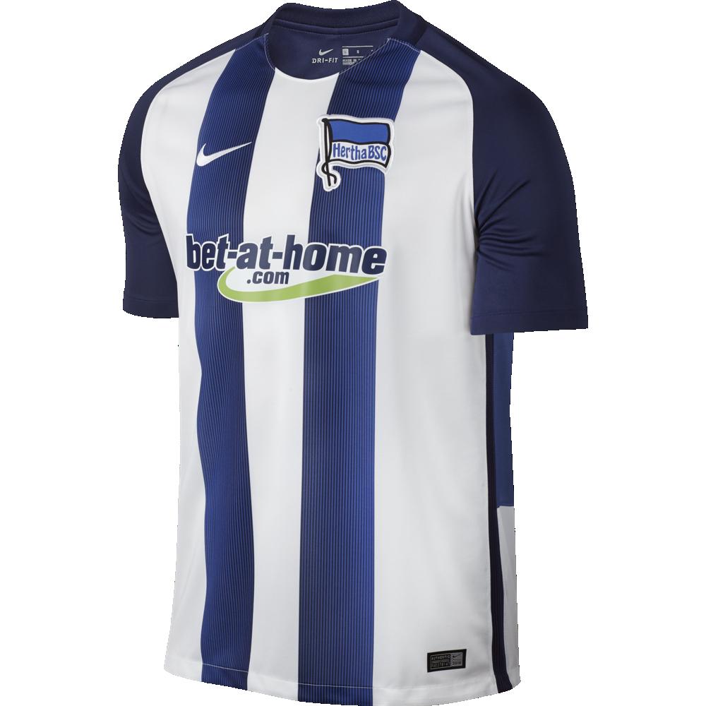Nike Hertha BSC Berlin Home Trikot Herren 2016/2017 blau weiss