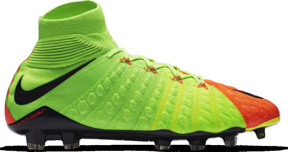 competitive price 5ed80 ec100 Nike Hypervenom Phantom III DF FG Herren Fußballschuhe Nocken grün orange