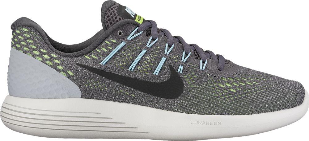 brand new 19246 96e36 Nike LunarGlide 8 Damen Laufschuhe Running grau grün