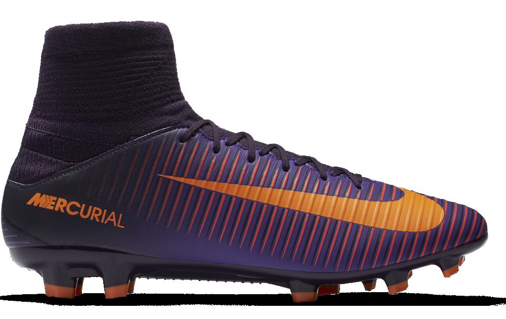 45a01533b0d47a Nike Mercurial Veloce III DF FG Herren Fußballschuhe lila orange ...