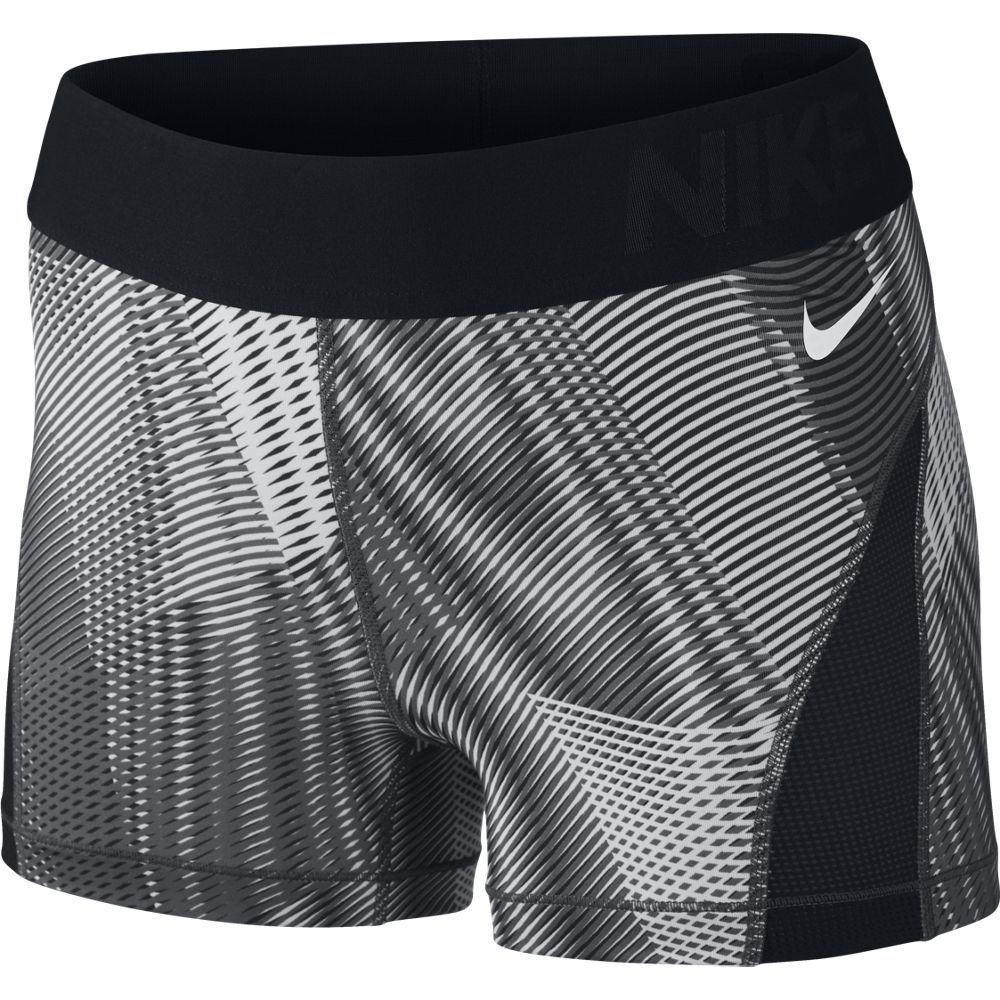 nike pro hypercool frequency shorts damen schwarz 725612. Black Bedroom Furniture Sets. Home Design Ideas
