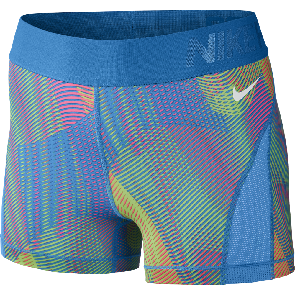 nike pro hypercool frequency shorts damen bunt 725612. Black Bedroom Furniture Sets. Home Design Ideas