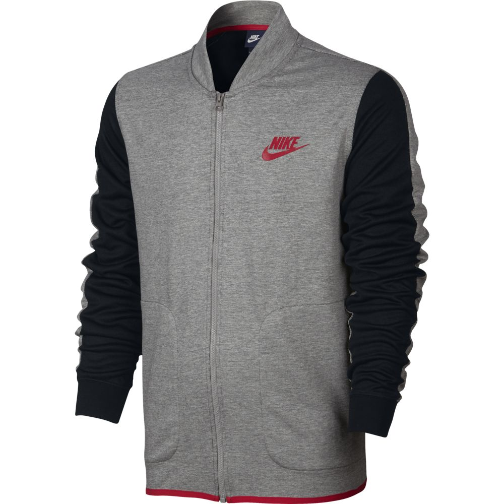 nike sportswear advance 15 track jacket herren jacke grau. Black Bedroom Furniture Sets. Home Design Ideas