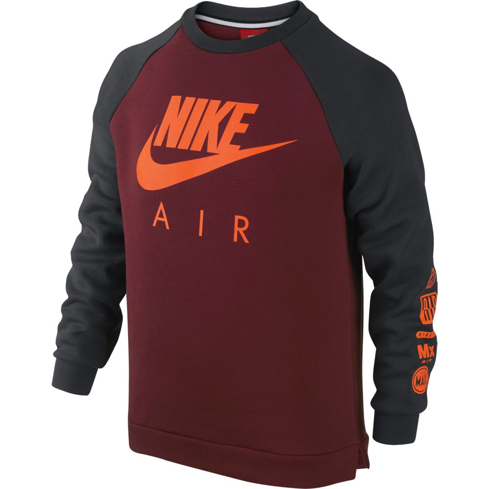 sport klingenmaier nike sportswear crew kinder pullover. Black Bedroom Furniture Sets. Home Design Ideas