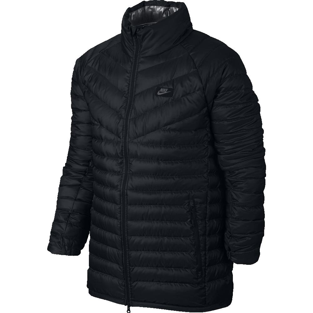nike sportswear jacket down fill herren jacke schwarz. Black Bedroom Furniture Sets. Home Design Ideas