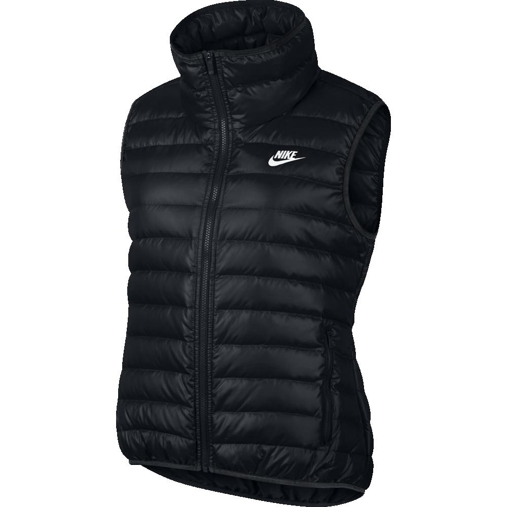 8a7e964c7119 Nike Sportswear Vest Damen Weste schwarz   805257-010   Sport ...