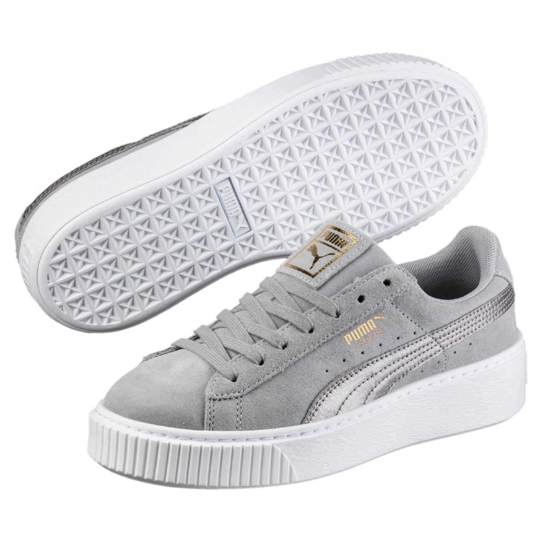 puma damen sneaker schwarz grau