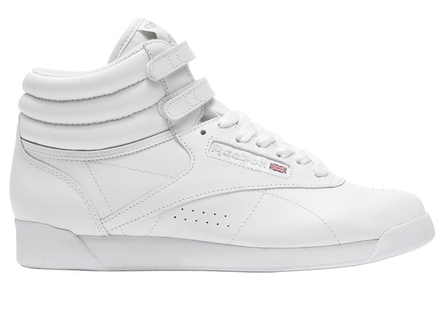 reebok freestyle hoch damen sneaker weiss 2431 sport klingenmaier. Black Bedroom Furniture Sets. Home Design Ideas