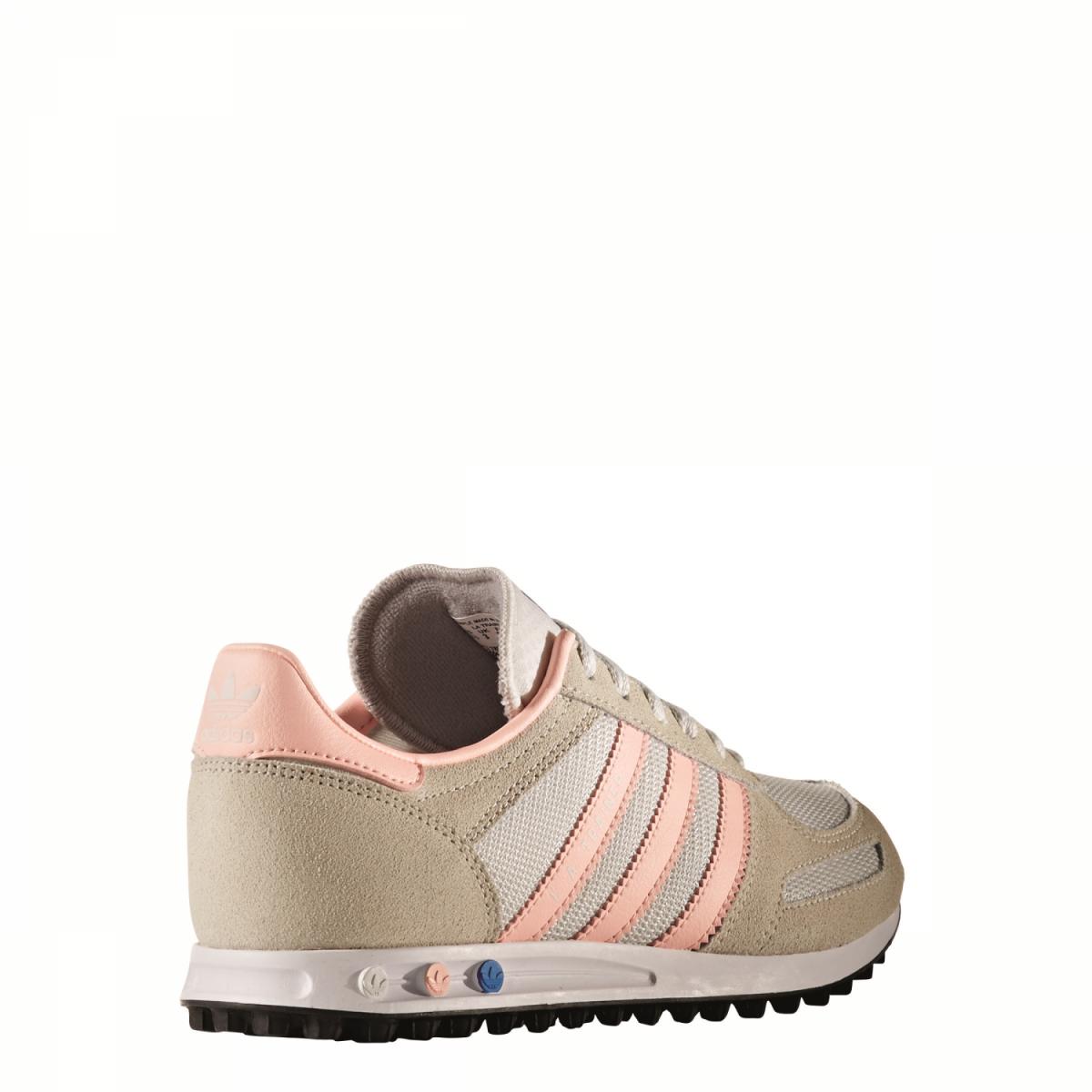 adidas originals la trainer sneaker schuhe beige rosa. Black Bedroom Furniture Sets. Home Design Ideas