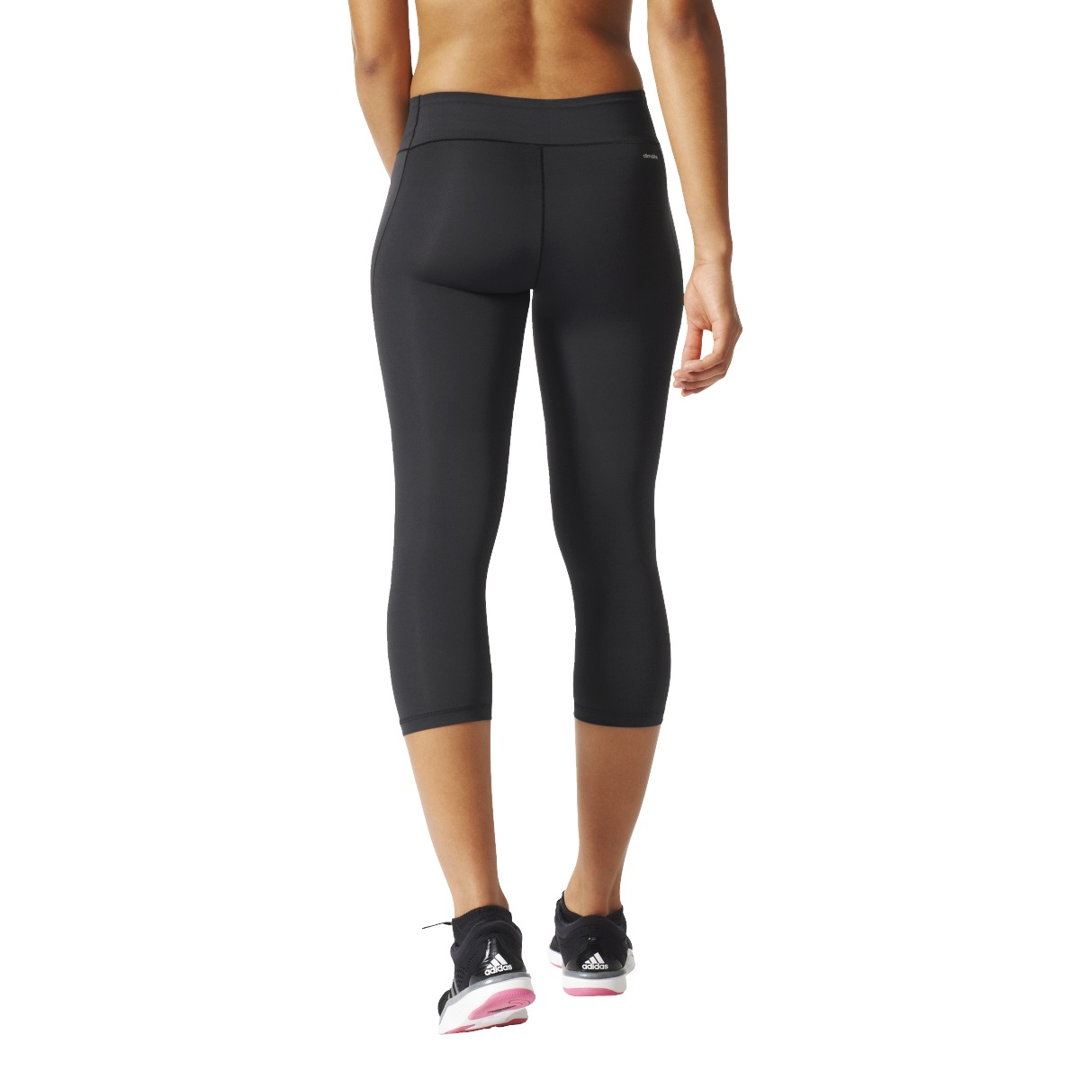 adidas workout 3 4 tight capri damen fitness hose schwarz ai3740 sport klingenmaier. Black Bedroom Furniture Sets. Home Design Ideas