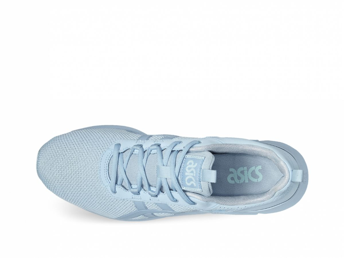 asics damen sneakers hellblau