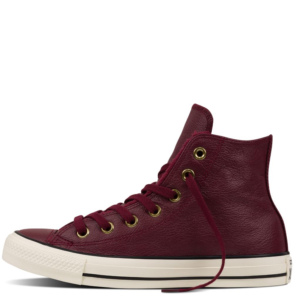 converse chuck taylor allstar high winter knit fur damen sneaker bordeauxrot 553366c 611. Black Bedroom Furniture Sets. Home Design Ideas