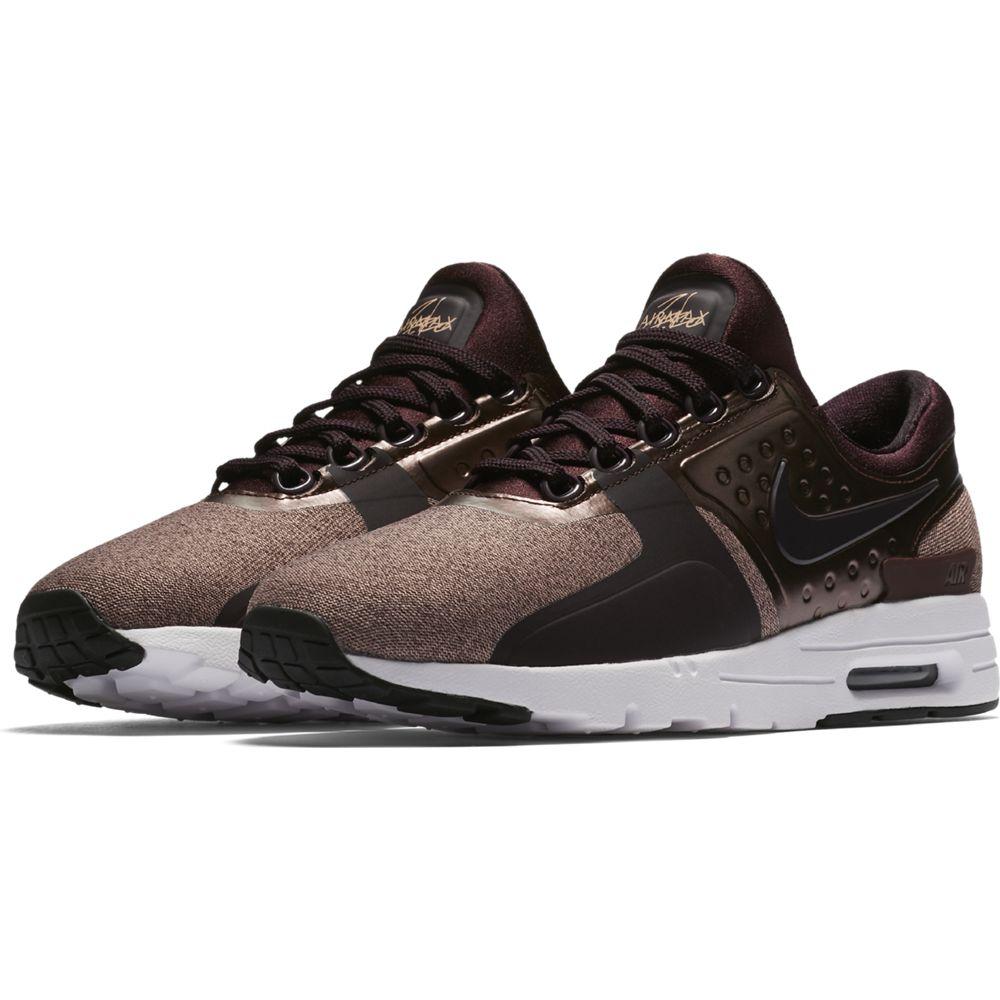 8e3456f538 Nike Air Max Zero Premium Sneaker Damen Schuhe weinrot | 903837-600 ...