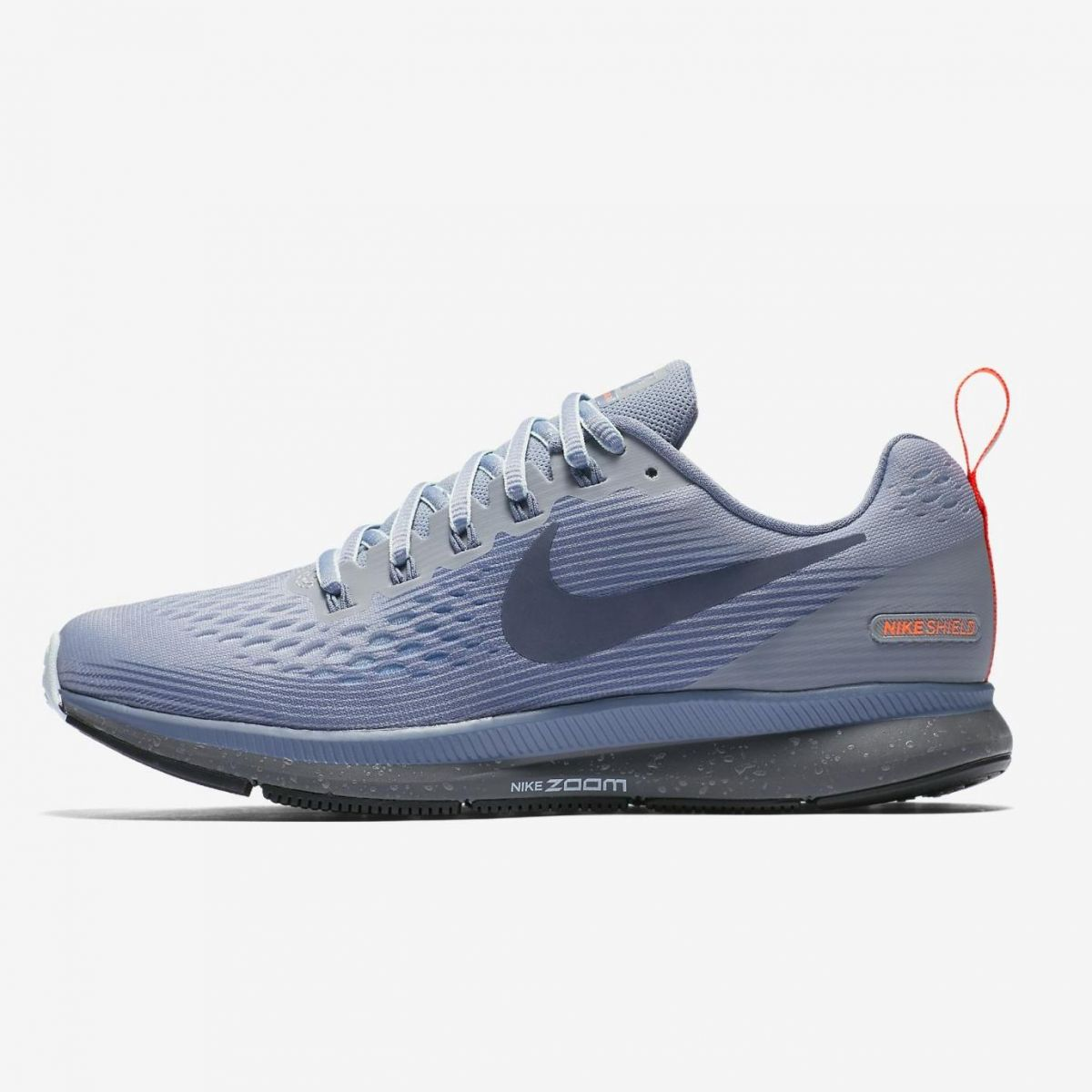 huge discount d1b7d 05e6a Nike Air Zoom Pegasus 34 Shield Damen Laufschuhe Running grau. 1 2 ...