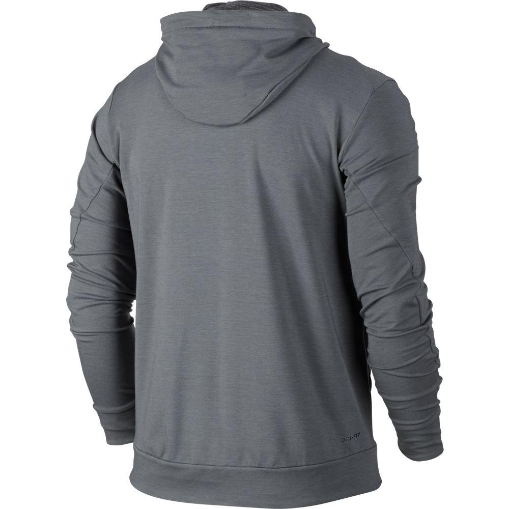 nike dry trainings hoodie herren kapuzenjacke grau. Black Bedroom Furniture Sets. Home Design Ideas