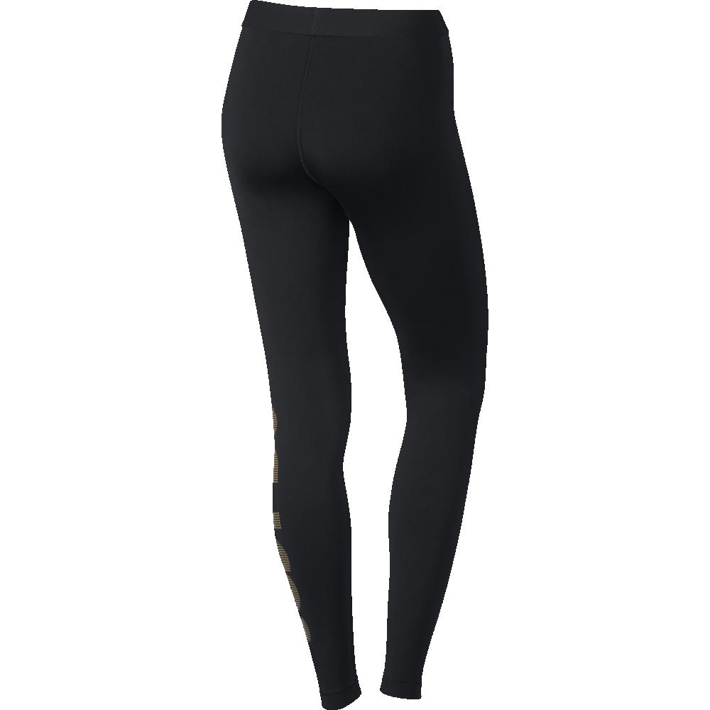 nike leggings transparent nike pro warm tight logo damen leg. Black Bedroom Furniture Sets. Home Design Ideas