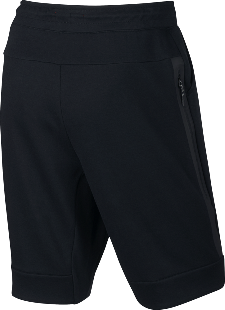 nike tech fleece short herren hose schwarz 805160 010. Black Bedroom Furniture Sets. Home Design Ideas
