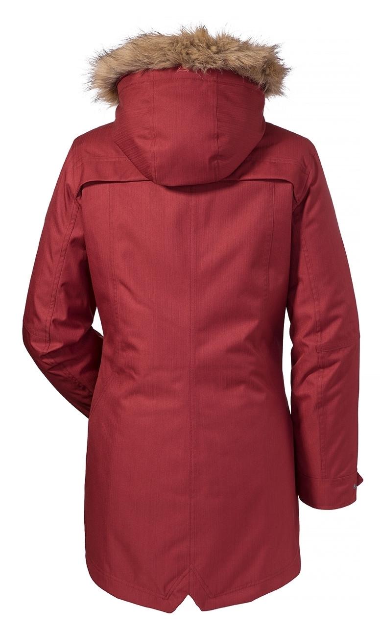 Schöffel 3in1 Jacket Genova1 Damen Doppeljacke rot