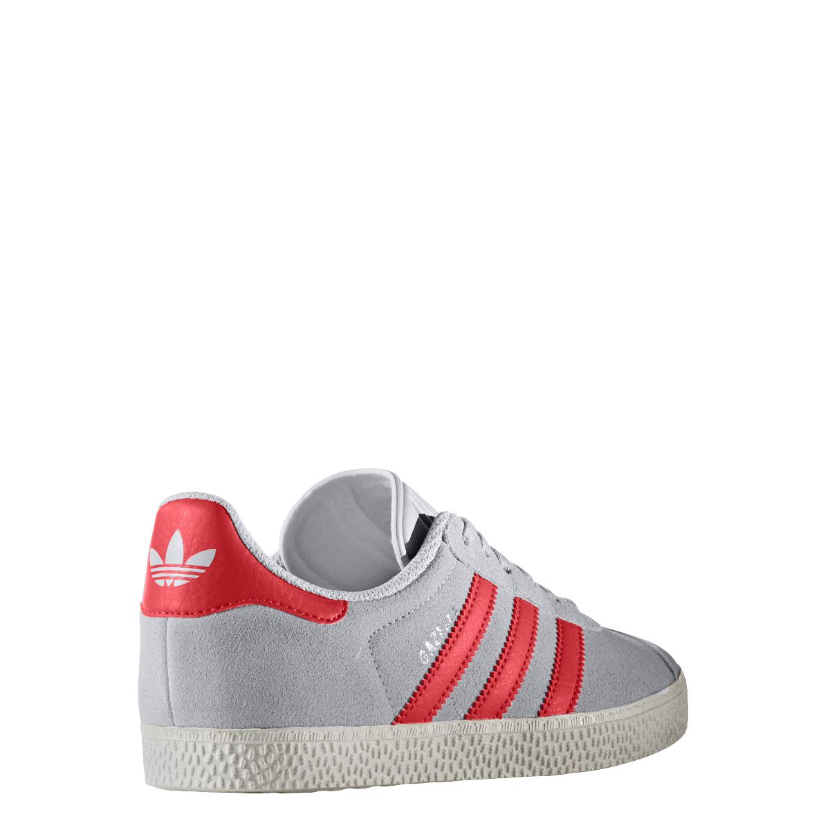 sport klingenmaier adidas originals gazelle sneaker kinder schuhe grau rot online kaufen. Black Bedroom Furniture Sets. Home Design Ideas