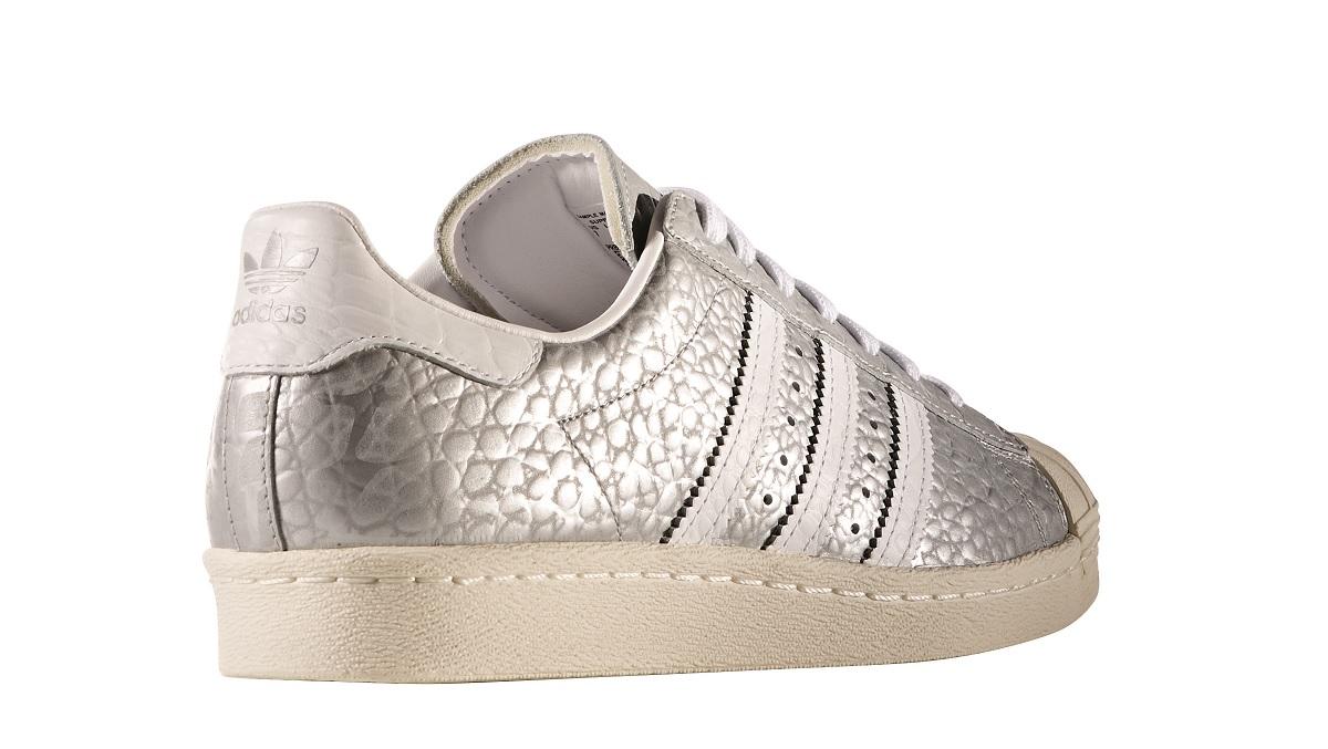 adidas originals superstar 80s damen sneaker silber. Black Bedroom Furniture Sets. Home Design Ideas