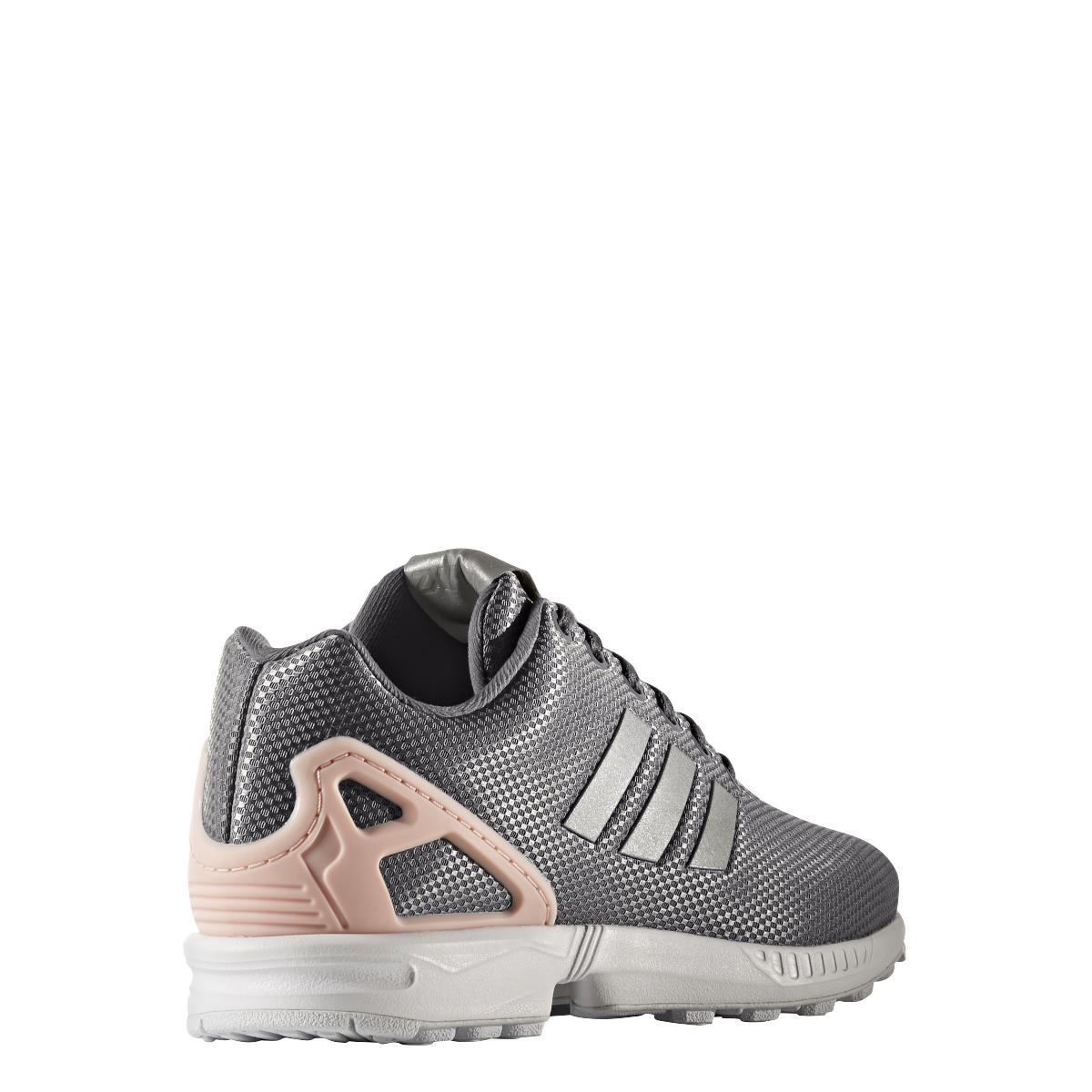 adidas originals zx flux sneaker damen schuhe grau rosa. Black Bedroom Furniture Sets. Home Design Ideas