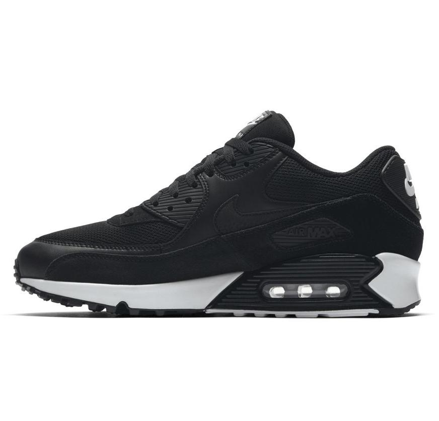 nike air max 90 essential sneaker herren schuhe schwarz. Black Bedroom Furniture Sets. Home Design Ideas