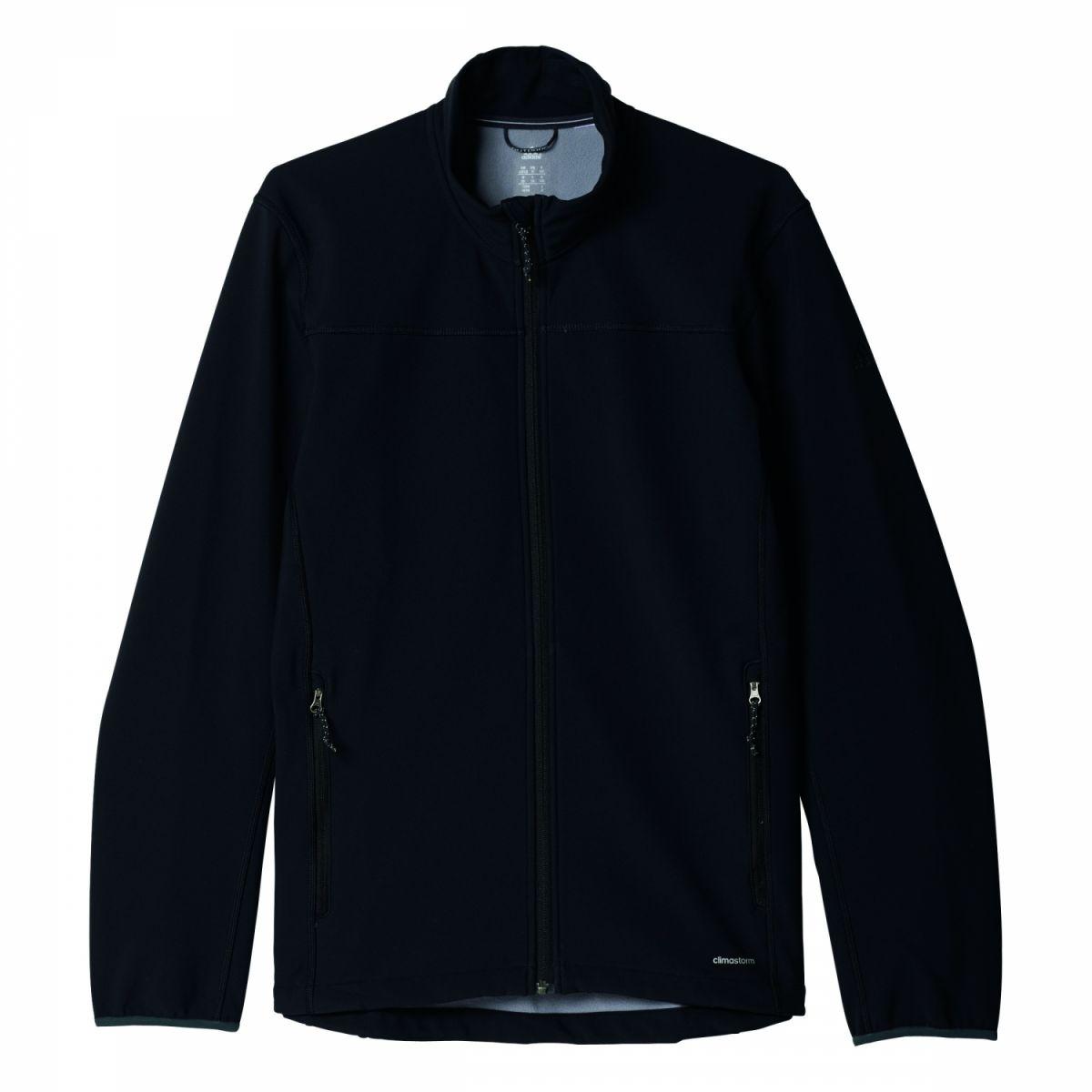 adidas softshell jacket herren jacke schwarz ai2371 sport klingenmaier. Black Bedroom Furniture Sets. Home Design Ideas