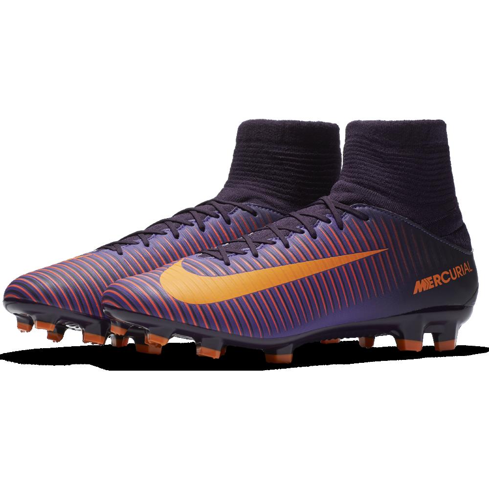 15d63b1a2ce438 Nike Mercurial Veloce III DF FG Herren Fußballschuhe lila orange. 1 · 2 · 3  · 4 ...