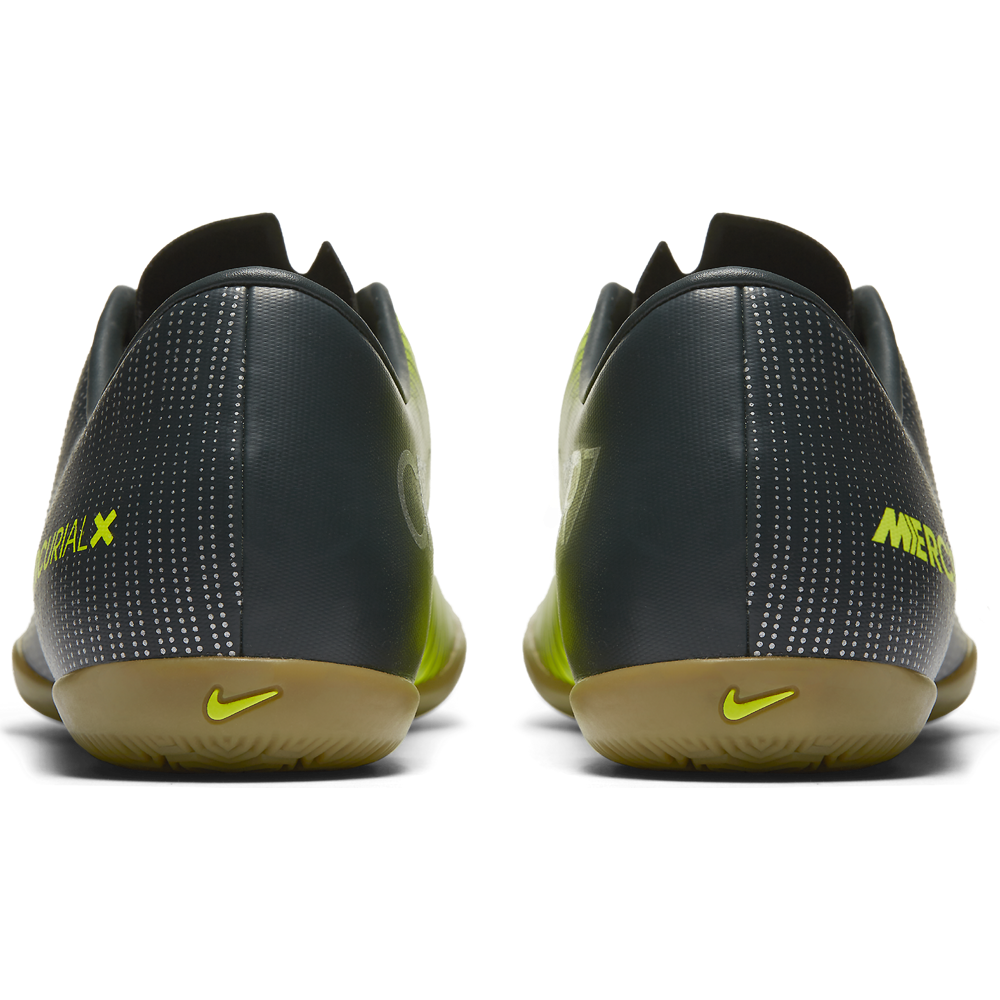 brand new ef30e 42437 Nike Mercurial X Victory VI CR7 IC Fußball Hallenschuhe Indoor grün. 1 2  3 4 5 ...