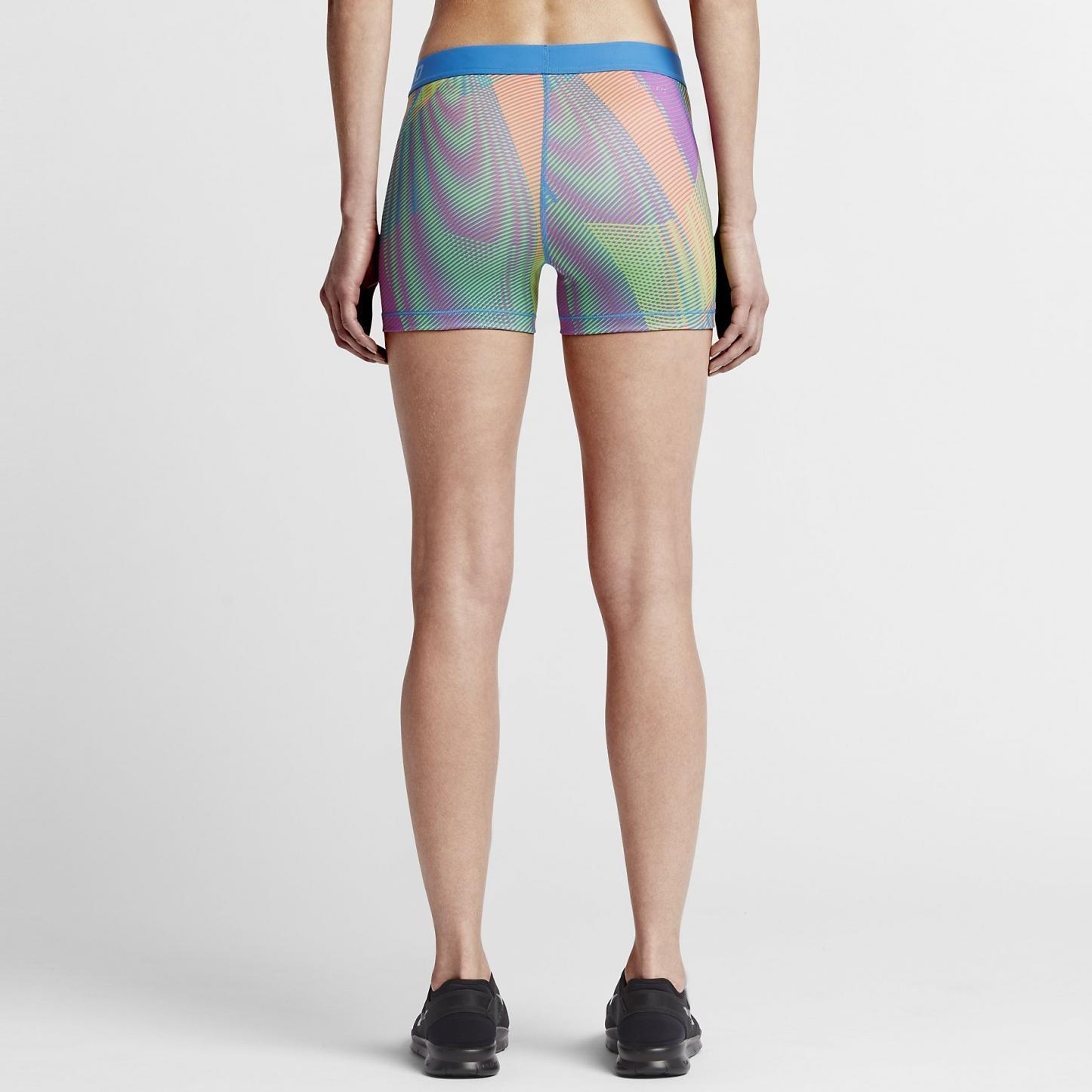 sport klingenmaier nike pro hypercool frequency shorts damen bunt online kaufen. Black Bedroom Furniture Sets. Home Design Ideas